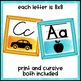 Black and Brights Classroom Decor Alphabet Line
