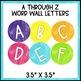 Black and Brights Classroom Decor: Word Wall Set