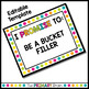 Black and Brights Classroom Promise Behavior Management Rules Posters