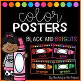 Black and Brights Color Posters (Manuscript)