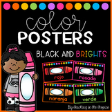 Black and Brights Spanish Color Posters (Manuscript)