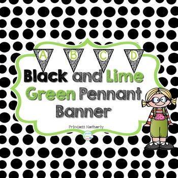 Black and Lime Green Banner