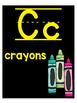 Black and Neon Alphabet