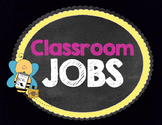 Black and Neon Classroom Jobs