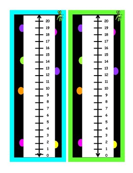 Black and Neon Polka Dots 5 AND 10 FRAMES AND