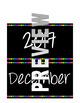 Black and Polka Dot Calendar Pack