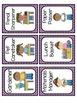 Black and Purple Quatrefoil Class Job Cards