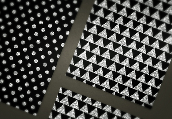 Black and Silver Glitter Paper Pack