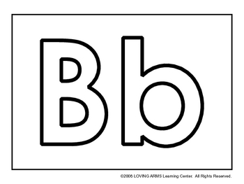 Black and White Alphabet