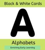 Black and White - Alphabets