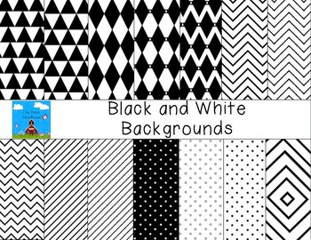 Black and White Backgrounds