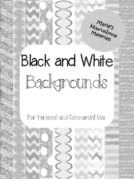Black and White Backgrounds (Commercial Use)