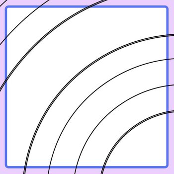 Black and White Beginner Handwriting Spiral Lines for Poetry & Creative Writing