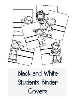 Black and White Binder Covers