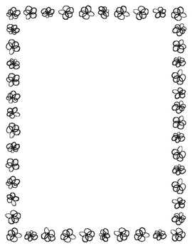 Black and White Border Set