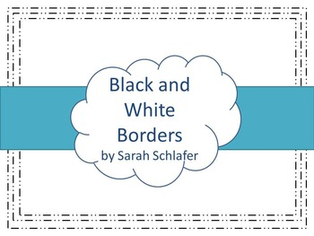 Black and White Borders