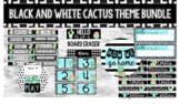 Black and White Cactus Theme Bundle
