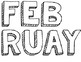 Black and White Calendar