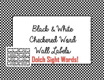 Free Downloads - Dolch Sight Word Wall cards