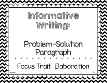 Black and White Chevron Journeys 2017 Grade 2 Focus Wall Posters Unit 5