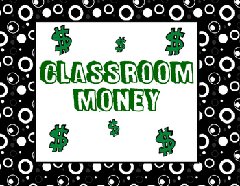 Black and White Classroom Cash