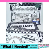 Black and White Classroom Decor: Black and White Themed Classroom