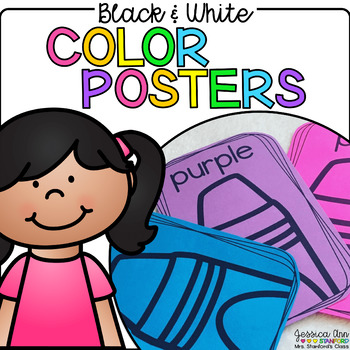 Black and White Color Posters