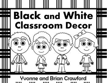Black and White Decor Editable