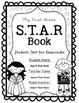 Black and White Editable STAR Book/Binder
