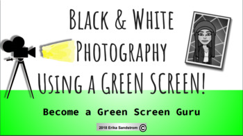 Black and White Green Screen Jump Back in History Tutorial in DoINK!