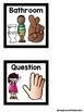 Black and White Hand Signals Featuring Melonheadz