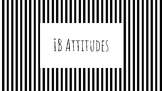 Black and White IB Attitude Posters