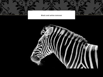 Black and White Images powepoint presentation for teachers