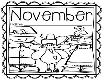 Black and White Journal Covers (September-January)