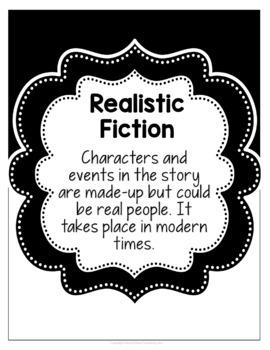Classroom Literature Genre Poster Set {EDITABLE}