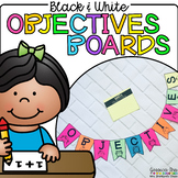 Black and White Objective Boards and Bunting