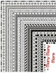 Borders, Huge set of Transparent PNG page borders