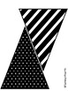 Black and White Pennant Pack