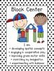 Black and White Polka Dot  Center Signs