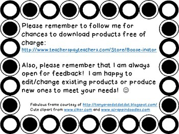 Black and White Polka Dot - Classroom Job Cards