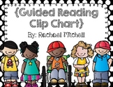 Black and White Polka Dot Guided Reading Clip Chart- With Black Font