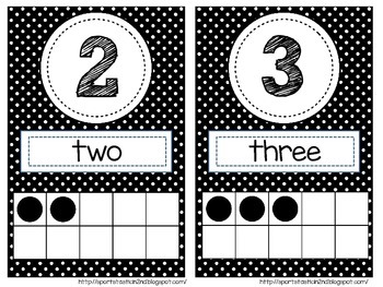 [FREEBIE] Polka Dot Numbers 0-20