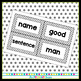 Black and White Polka Dot Word Wall Word Cards - Fry Word Aligned