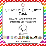 Black and White Printable Book Cover