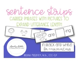 Black and White Sentence Strips: Carrier Phrases with Pictures to Increase MLU