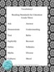 Black and White Theme Grade Three CCSS Complete Vocabulary Program