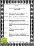 Black and White Theme Grade Three Common Core Lesson Plann