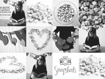 Black and White Valentine Heart