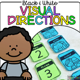 Black and White Visual Direction Cards