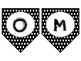 Black and White Welcome Banner
